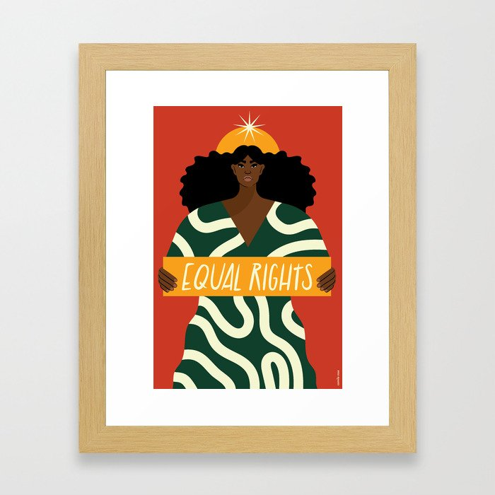 Equal Rights Framed Art Print