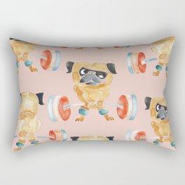 Pugsgym Lift Sweat Rectangular Pillow