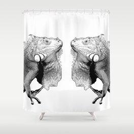 Iguanas (animals) Shower Curtain