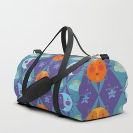 The sun, the moon and the stars Duffle Bag