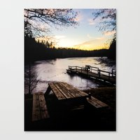 finland Canvas Prints featuring Finland by gabsgorman