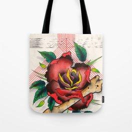 The Eye, The Rose, The Bone Tote Bag