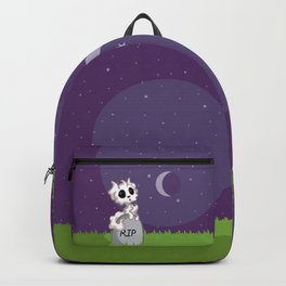 Adorable Ghost Kitty Backpack