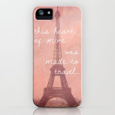 This Heart Was Made to Travel Slim Case iPhone (5, 5s)