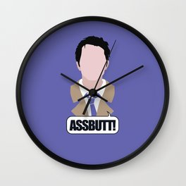 3 Castiel Novak Wall Clock