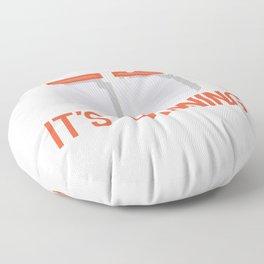 Grab your Balls its Canning Season Floor Pillow