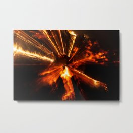 Playing with Fire 17 Metal Print