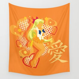 Soldier of Love and Beauty Wall Tapestry