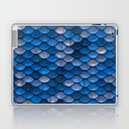 Mermaid Blues Scales Laptop & iPad Skin