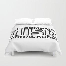 Compact Disc Digital Audio Logo Duvet Cover