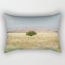 Panning in Utah Rectangular Pillow