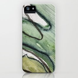 Verde menta  iPhone Case