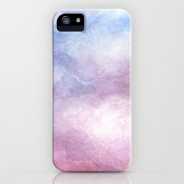 Sunset Clouds Watercolor iPhone Case
