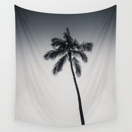 palm tree ver.black Wall Tapestry