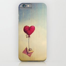 Lover letter iPhone Case