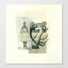 16 Point Buck Canvas Print