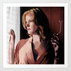 Breaking Bad Illustrated - Skyler White Art Print