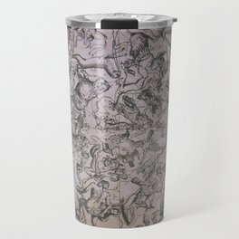 Vintage Constellations & Astrological Signs | Beetroot Paper Travel Mug