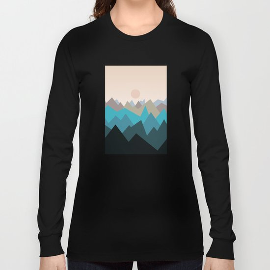 Landscape NC 05 Long Sleeve T-shirt
