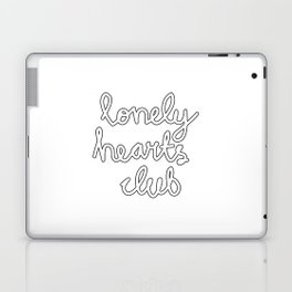 Lonely Hearts Club - Curly Laptop & iPad Skin