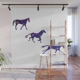 A Universe horse Runs_A Wall Mural