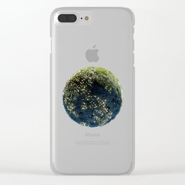 Planet #005 Clear iPhone Case