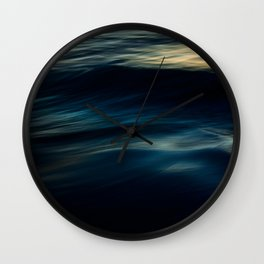 The Uniqueness of Waves IV Wall Clock