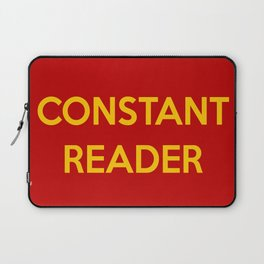 Constant Reader Laptop Sleeve