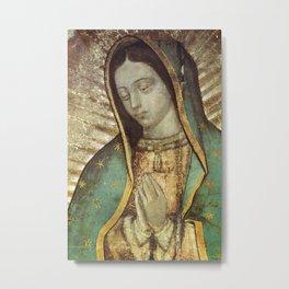 Virgen De Guadalupe Mexico Metal Print