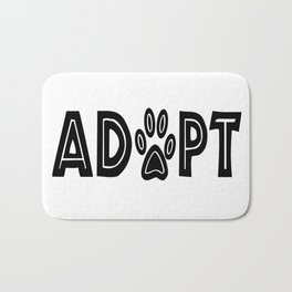 Adopt Paws Bath Mat