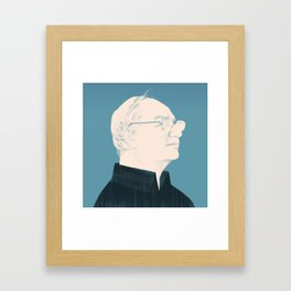 Architect Portraits: Frank Gehry Framed Art Print