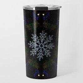 Continuous Christmas Lights Travel Mug
