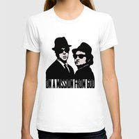 blues brothers T-shirts featuring Blues Brothers by John Medbury (LAZY J Studios)