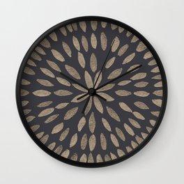 Mandala Flower #5 #drawing #decor #art #society6 Wall Clock