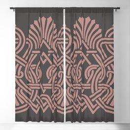 Regal Pattern Blackout Curtain