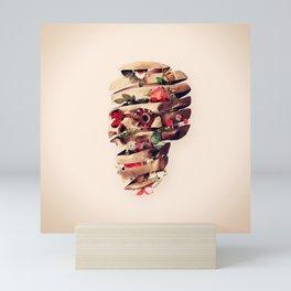 Peeled Skull Mini Art Print