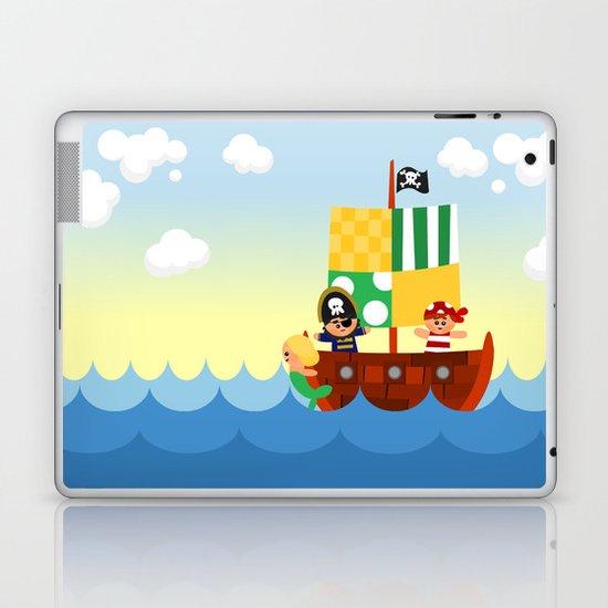 pirate ship Laptop & iPad Skin