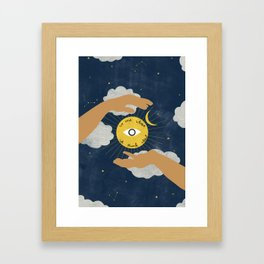 We Are What We Think About Framed Art Print