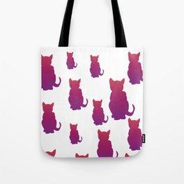 Faded Cat Tote Bag