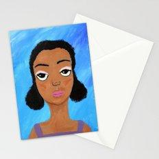 Sad Eyes Stationery Cards