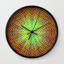 Pattern of hope's light ... Wall Clock