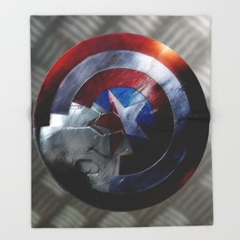 Bucky and Steve  Throw Blanket
