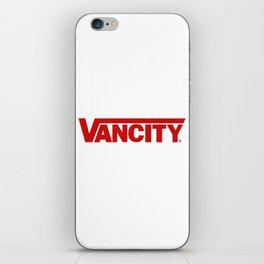 VANCITY iPhone Skin