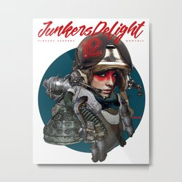 Junker's Delight Metal Print