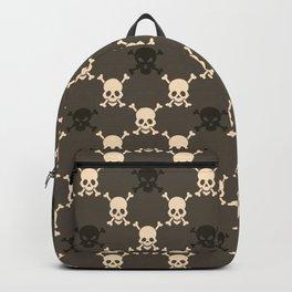 Halloween Skull Pattern Backpack