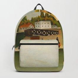 Henri Rousseau - Quai d'Ivry Backpack