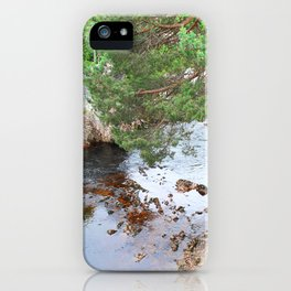 Peaceful stream iPhone Case