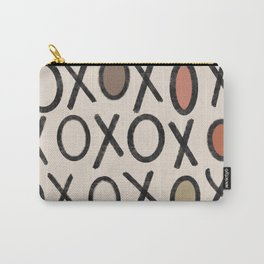 XOXO Art Print Carry-All Pouch