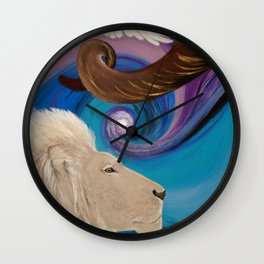 Blow A Trumpet In Zion Wall Clock