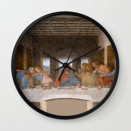 """Leonardo da Vinci """"The last supper"""" Wall Clock"""